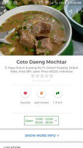 kuliner kaki lima enak di Surabaya