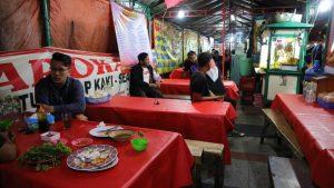 kuliner kaki lima enak di Bandung, tempat makan sea food barokah
