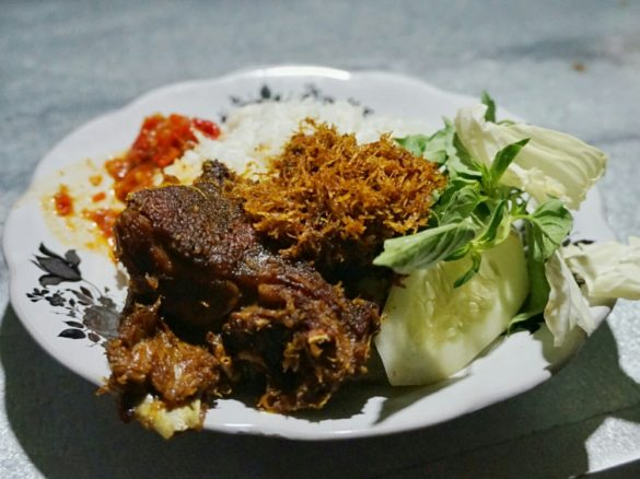 kuliner kaki lima di Surabaya