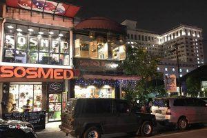 cafe Instagramable di Medan, Nampak depan Sosmed Cafe