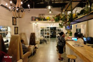 cafe Instagramable di Medan, Cantiknya desain Kito Art Cafe