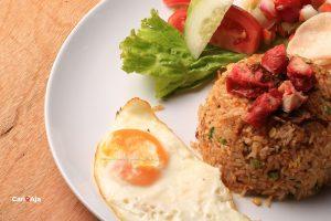 cafe Instagramable di Medan, Nasi goreng Kito Floral Cafe & Restaurant