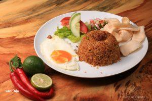cafe Instagramable di Medan, Nasi goreng Kito Art Cafe