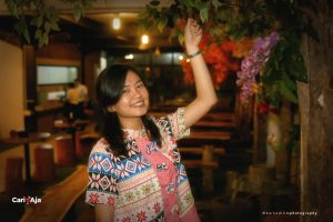 cafe Instagramable di Medan, Salah satu sudut Kito Floral Cafe & Restaurant