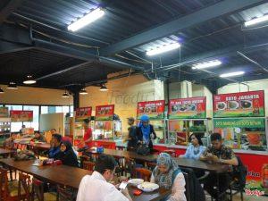 Tempat bukber murah di Bandung, Pujasera Merdeka