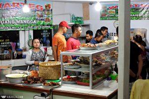 Warteg Gang Mangga, warteg paling enak di Jakarta