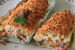 Macaroni Panggang, kuliner Taman Kencana Bogor