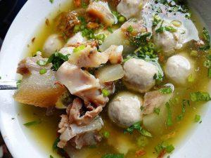 Bakso Kikil Pak Jaka, kuliner Suryakencana Bogor