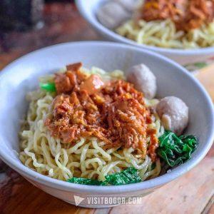 Mie Ayam Kosim, mie ayam legendaris di Bogor