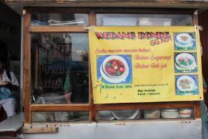 Wedang Ronde, kuliner Suryakencana Bogor