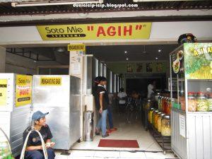 Kedai Soto Mie Agih, kuliner Suryakencana Bogor
