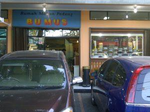 Bu Mus Bandung, rumah makan Padang enak di Bandung