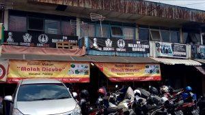 Malah Dicubo Bandung, rumah makan Padang enak di Bandung