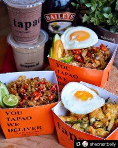 Tapao, nasi kotak kekinian di Jakarta