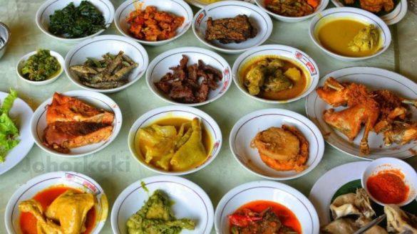 Masakan Padang, rumah makan Padang enak di Bandung