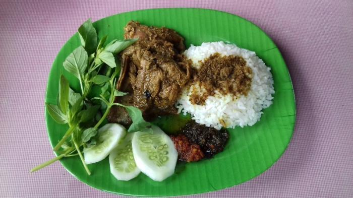 Bebek DUBES, nasi bebek enak di Bogor, Cari Makan Aja