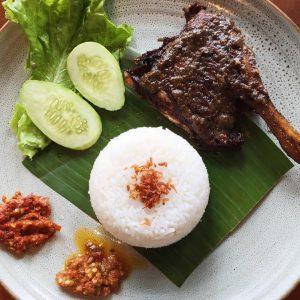 Bebek Goreng Rojali, nasi bebek enak di Bogor