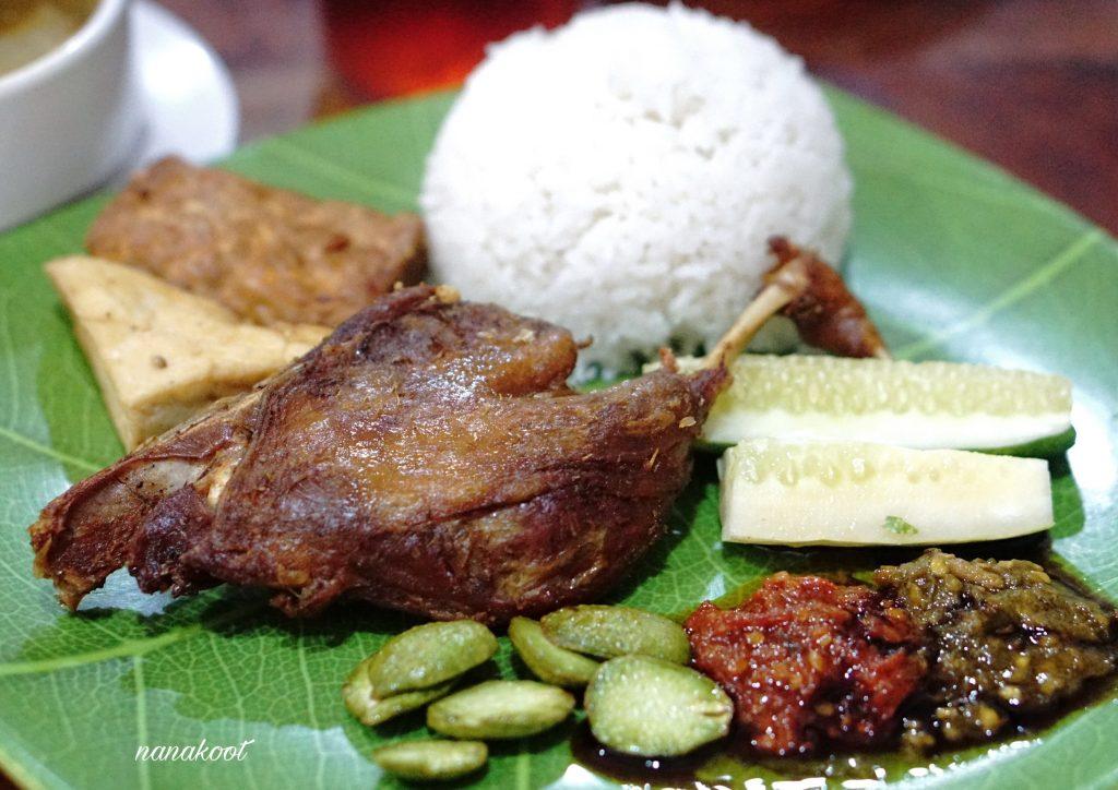 Sego Bebek Khas Surabaya, nasi bebek enak di Bogor. Carimakanaja