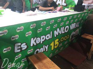 Es Kepal Milo Viral, es kepal Milo Jakarta Selatan