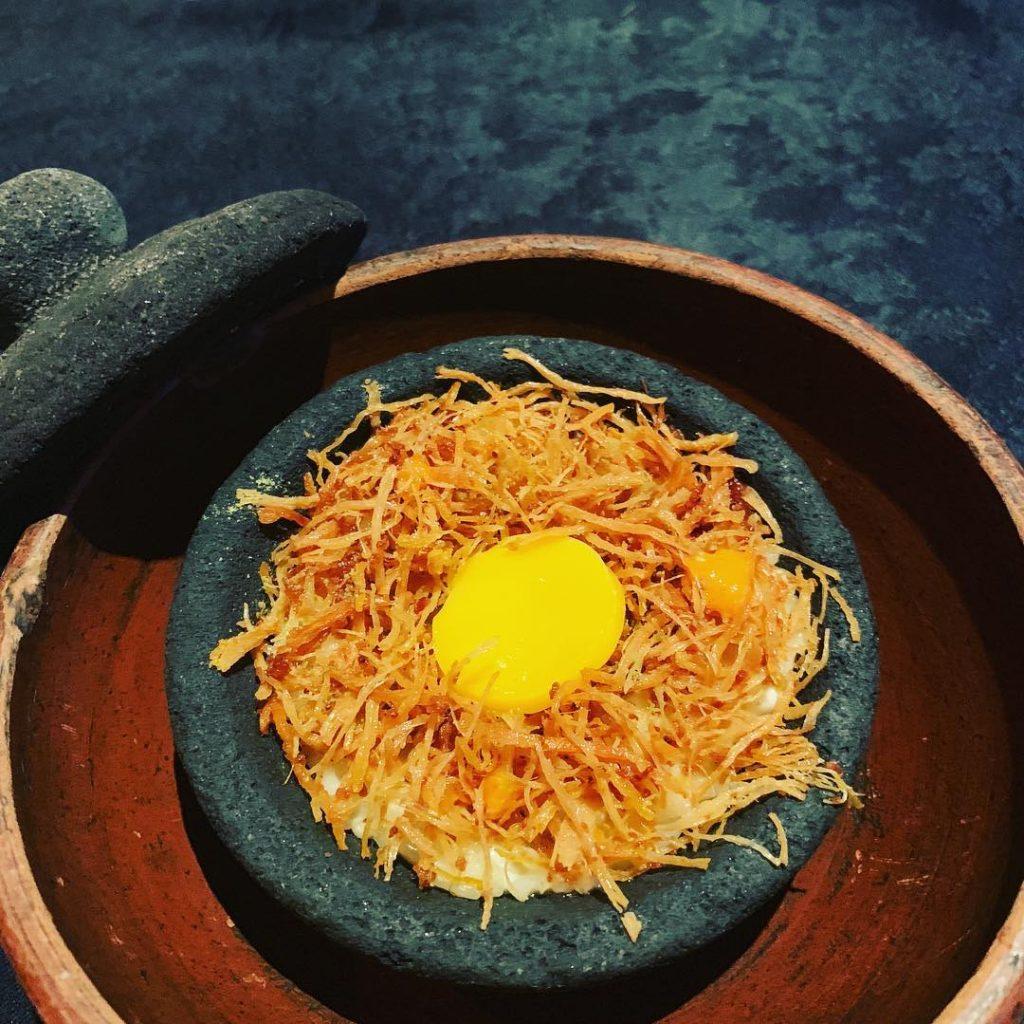 kuliner unik di Jakarta, salah satu menu Namaaz Dining