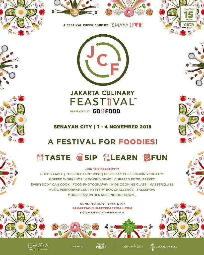 Jakarta Culinary Feastival 2018, CariMakanAja