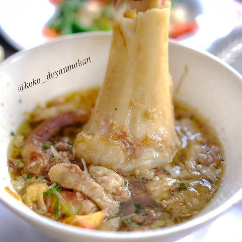 sop iga enak di Jakarta, Kembang Lawang Pasar Minggu, Carimakanaja