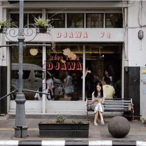 kopi susu hits di Bandung, Kopi Toko Djawa