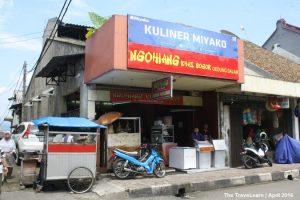 ngohiong enak di Bogor, Kuliner Miyako Ngohiang Khas Bogor Gedung Dalam