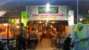 Wasabi Yatai, restoran jepang murah di Surabaya