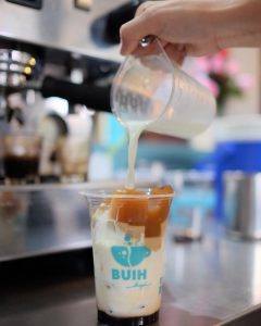 kopi susu hits di Bandung, Buih Kopi