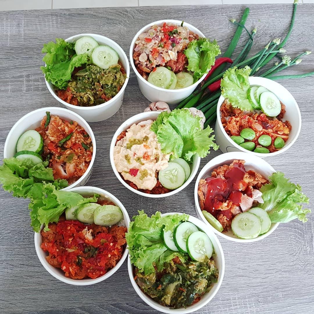 kuliner hits di Bandung, Ayam Geprek Budew, Cari Makan Aja