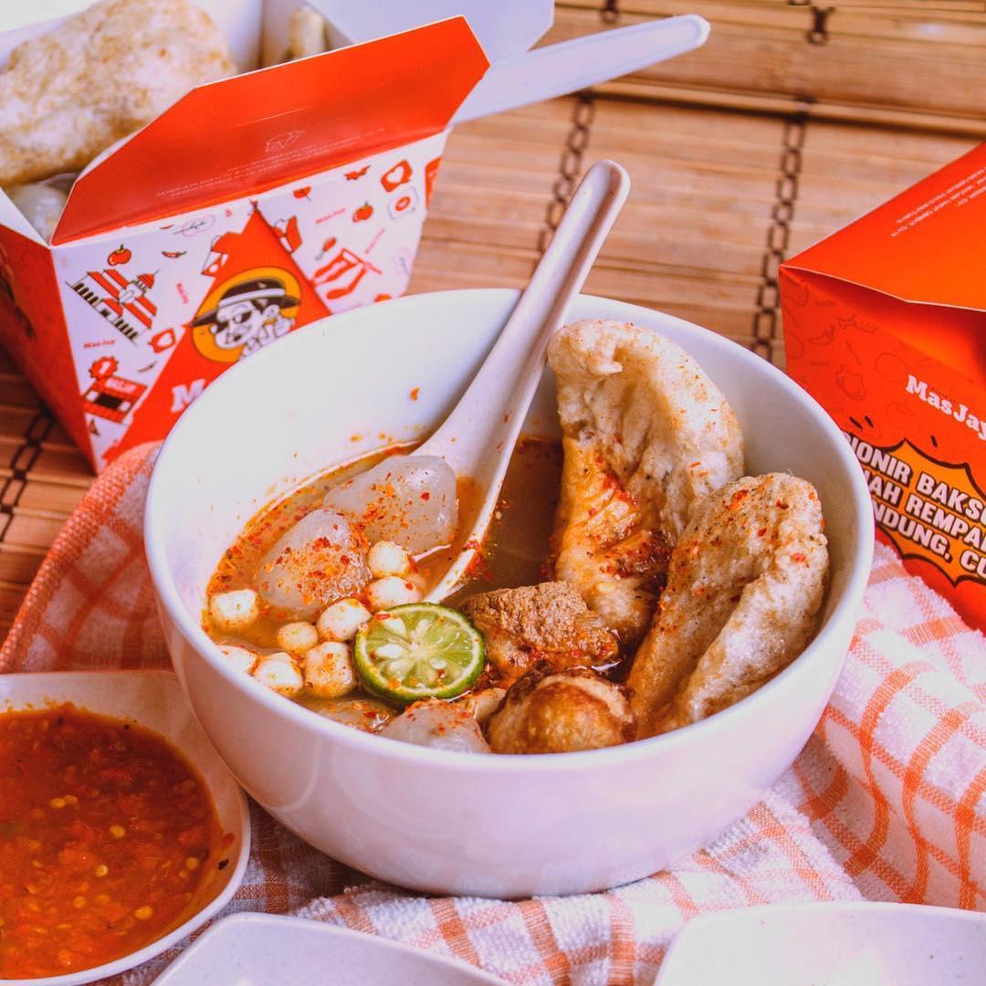 kuliner hits di Bandung, Bakso Aci MasJay, Cari Makan Aja