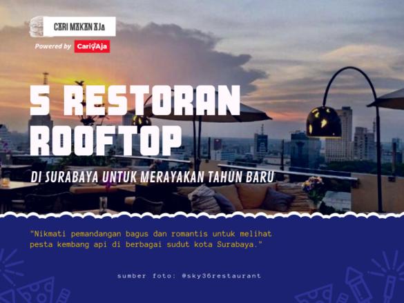 banner 5 Restoran Rooftop di Surabaya Untuk Merayakan Tahun Baru cari makan aja