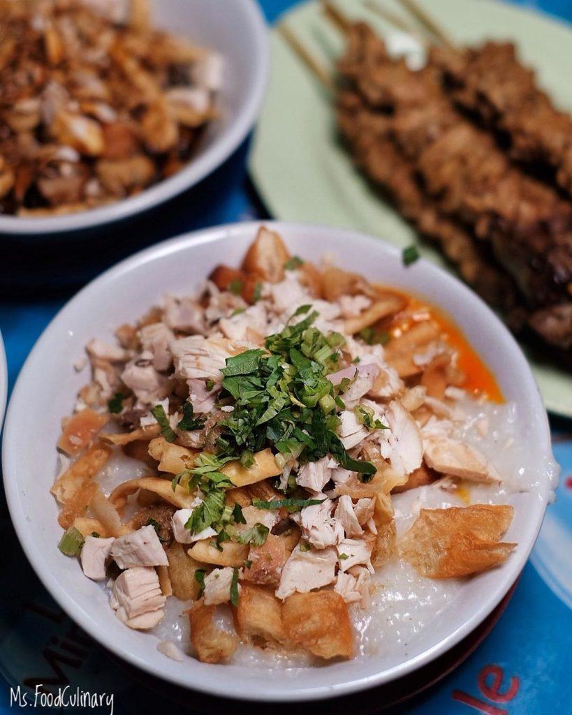 kuliner tenda di Jakarta, Bubur Ayam Barito, Cari Makan Aja