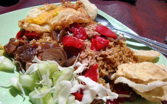 kuliner tenda di Jakarta, Nasi Goreng Warung Bhakti, Cari Makan Aja
