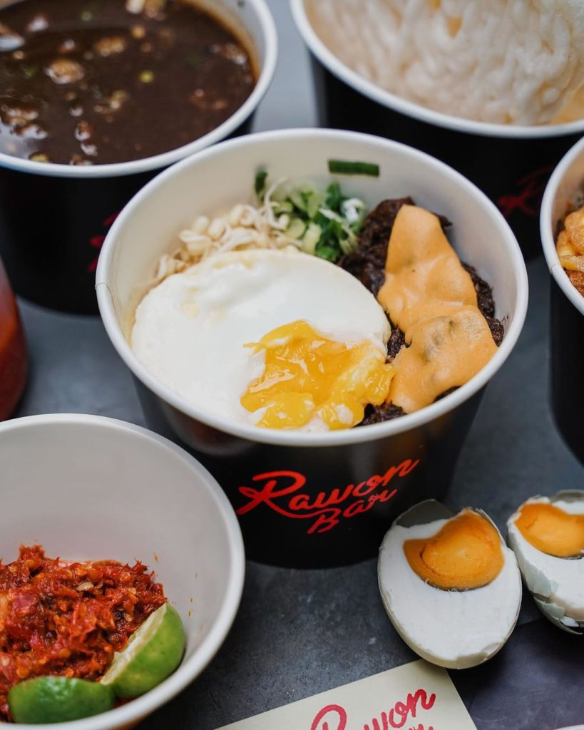 Rawon Bar, Rawon Don Salteg Egg, carimakanaja.com