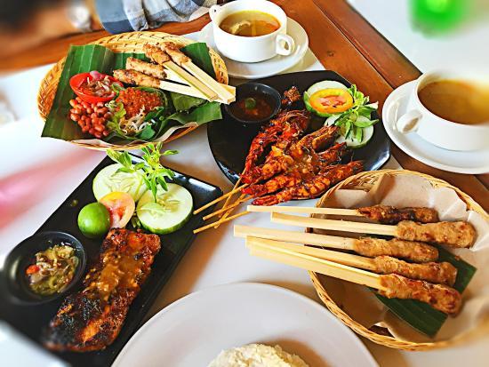 sate lilit Bali, Sate Lilit Be Pasih, carimakanaja.com