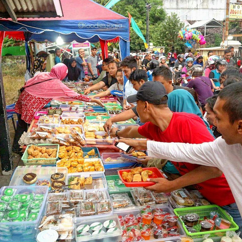 takjil di Jogja, Pasar Ramadan Jogokaryan, carimakanaja.com