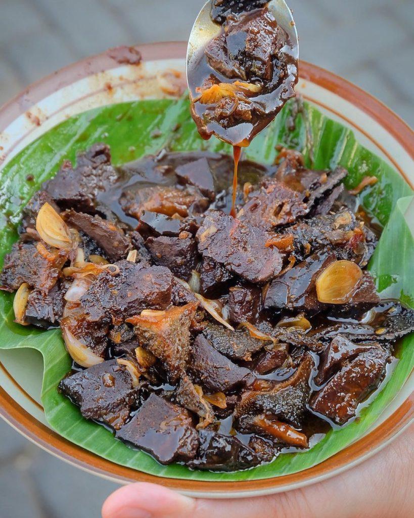 kuliner legendaris Semarang, Babat Gongso Pak Karmin, carimakanaja.com