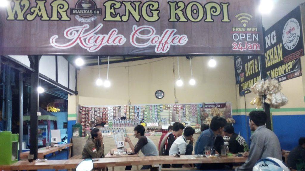 cafe 24 jam di Surabaya, Keyla Coffee, carimakanaja.com