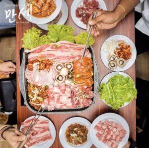 Manse Korean Grill, Rekomendasi restaurant All You Can Eat di Jakarta, Cari Makan Aja (Sumber: mansekoreangrill on instagram)