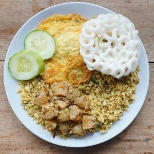 Nasi Goreng Rempah Mafia, Nasi Goreng Jakarta, Carimakanaja.com (Sumber: @nasgormafia on Instagram)